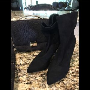 White House Black Market Suede Boots